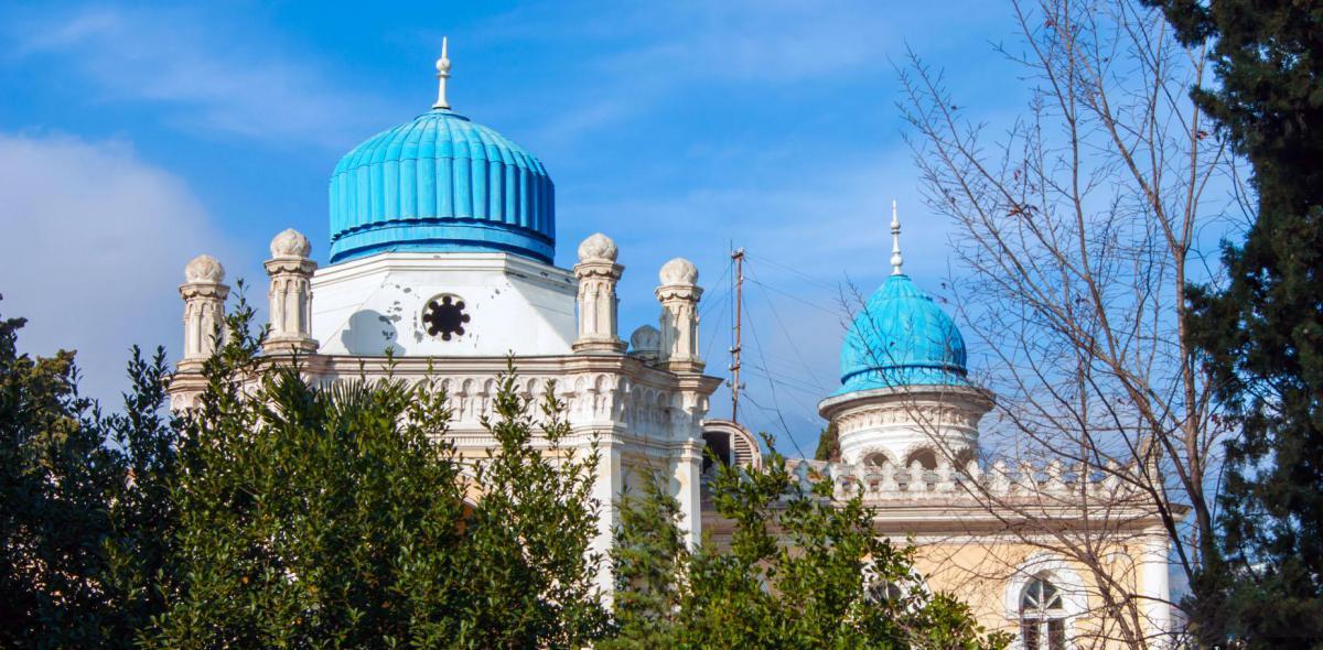 Памятники, исторические объекты Дворец эмира Бухарского  Ялта Дворец эмира Бухарского, Ялта