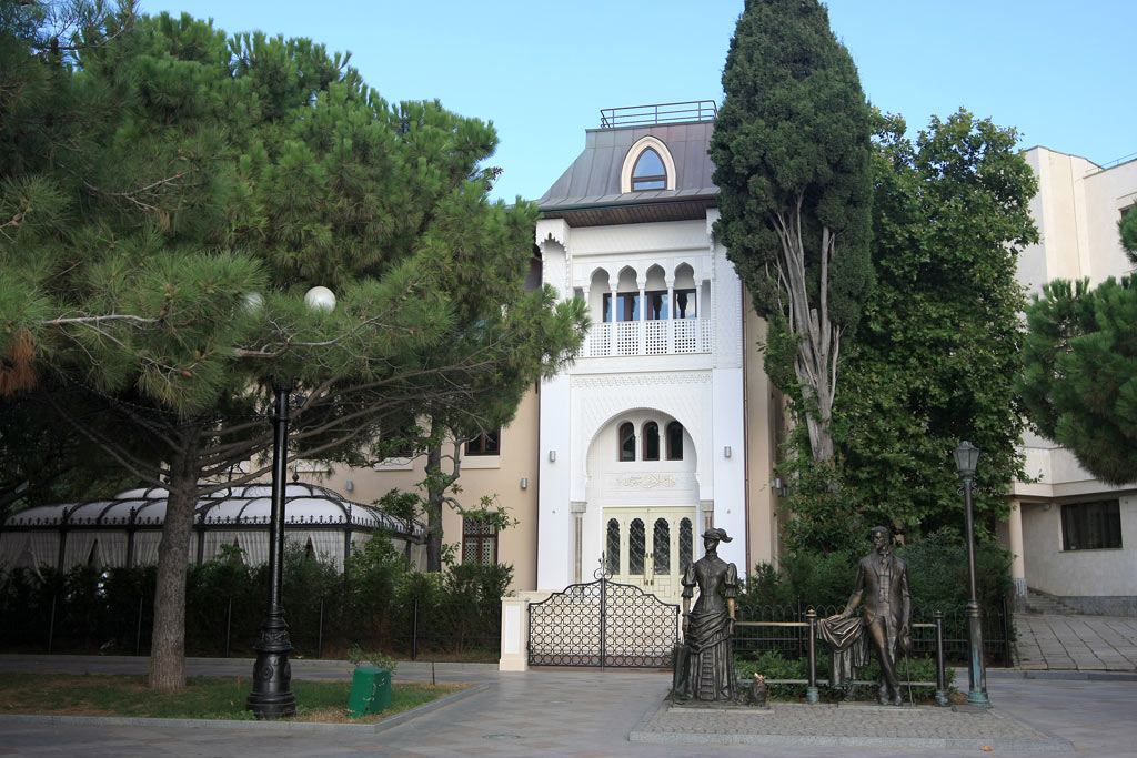 Памятники, исторические объекты Купальни Роффе Ялта Купальни Роффе, Ялта