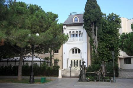 Памятники, исторические объекты Купальни Роффе