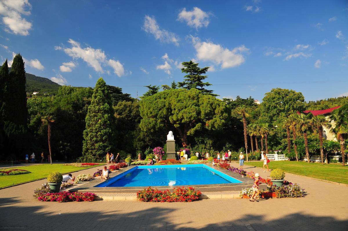 Парки, зоны отдыха, заповедники Никитский ботанический сад