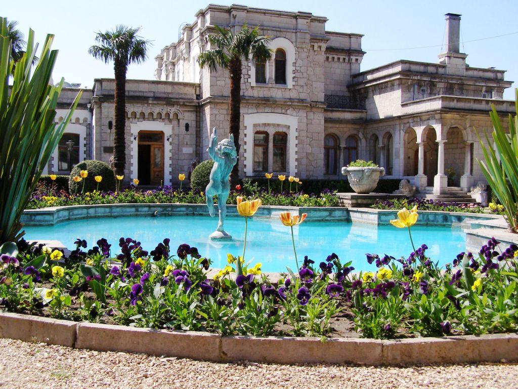 Памятники, исторические объекты Юсуповский дворец Ялта Юсуповский дворец, Ялта