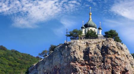 Действующие религиозные объекты Форосская церковь