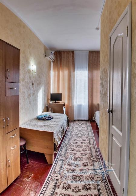 7,10 корпус - 1комнатный 2местный  (с балконом)