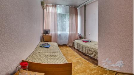 7,10 корпус - 1комнатный 2местный  (без балкона)